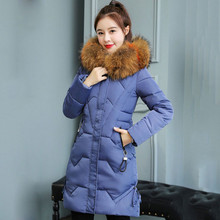 Winter Jacket Women 2019 New Fake Fur Parkas Plus Size 3XL Down Jackets Thick Coat Lady Clothing Abrigos Mujer Invierno стоимость
