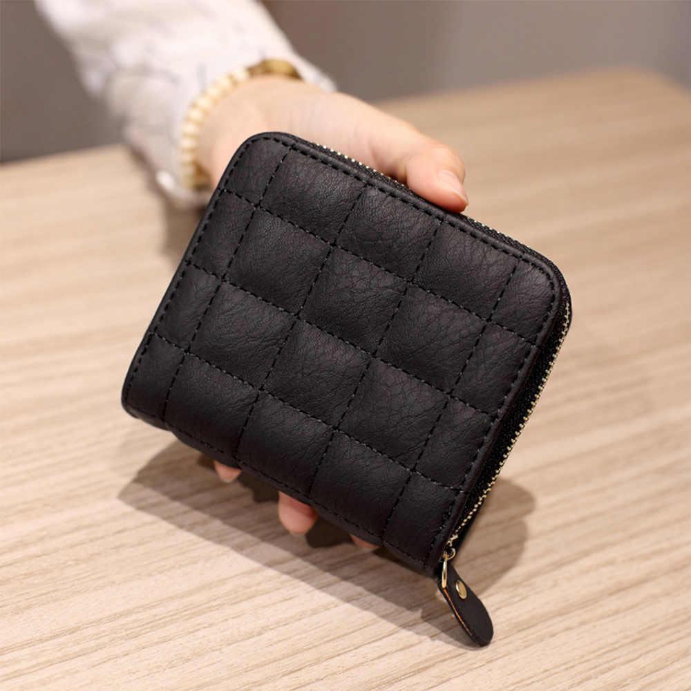 Dear Head Ladies Korean Style Purse Long Size Women Zipper Money Card Slots