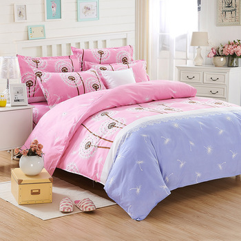 Cartoon Pattern Bedding Set Luxury Bed Sheets Quilt Cover Pillowcase Family Set King Size Bed Set Comforter Bedding Sets