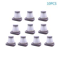 10PCS Vacuum Cleaner Filter Accessories for midea SC861 SC861A Wireless Handheld Vacuum Cleaner Parts Vacuum Filter цена и фото