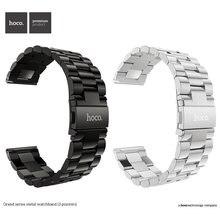 Ремешок hoco из нержавеющей стали для samsung galaxy watch 3
