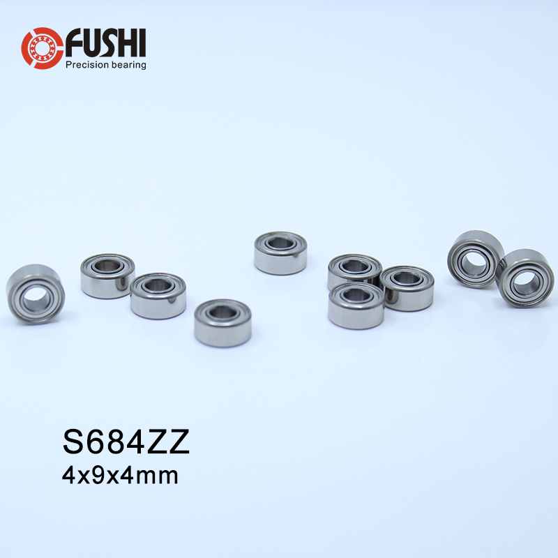 S684ZZ 440c Stainless Steel Ball Bearing Bearings 684ZZ QTY 5 4x9x4 mm