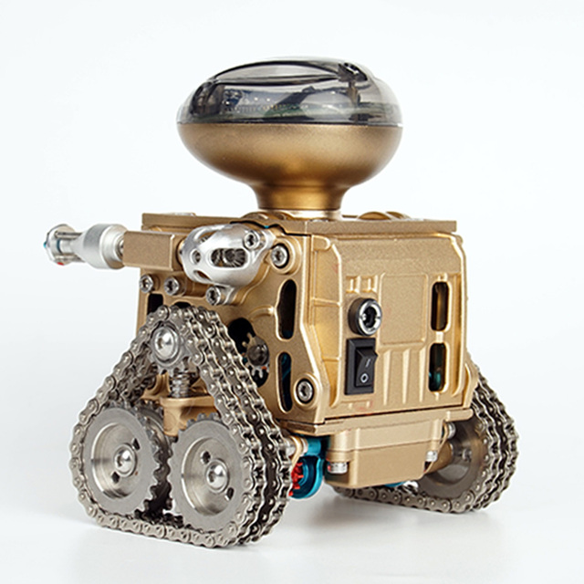 iTECHOR Metal Intelligent Remote Control Robot Assembling Educational Model Toy DIY Gift for Boy Consumer Electronics 5