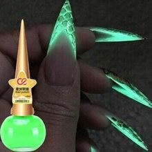 15 мл Светящийся лак для ногтей в матовый флуоресцентный светодиодный