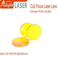Chiny PVD ZnSe Dia.12 18 19.05 20mm FL38.1 50.8 63.5 76.2 101.6mm CO2 soczewka lasera dla Co2 maszyna do grawerowania i cięcia laserowego w Frezarki do drewna od Narzędzia na