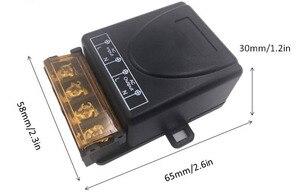 Image 3 - 433MHz العالمي للتحكم عن بعد التيار المتناوب 110 فولت 220 فولت 30A 1CH rf التتابع جهاز إرسال واستقبال للمرآب العالمي والتحكم في الباب