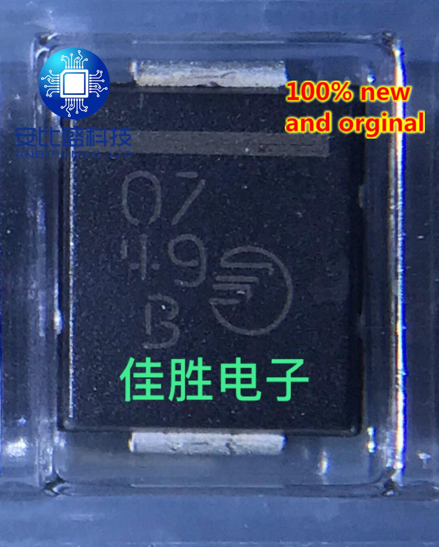 30pcs 100% New And Orginal FS5M S5M 5A1000V SMD Diode DO214AB Silkscreen 07   In Stock