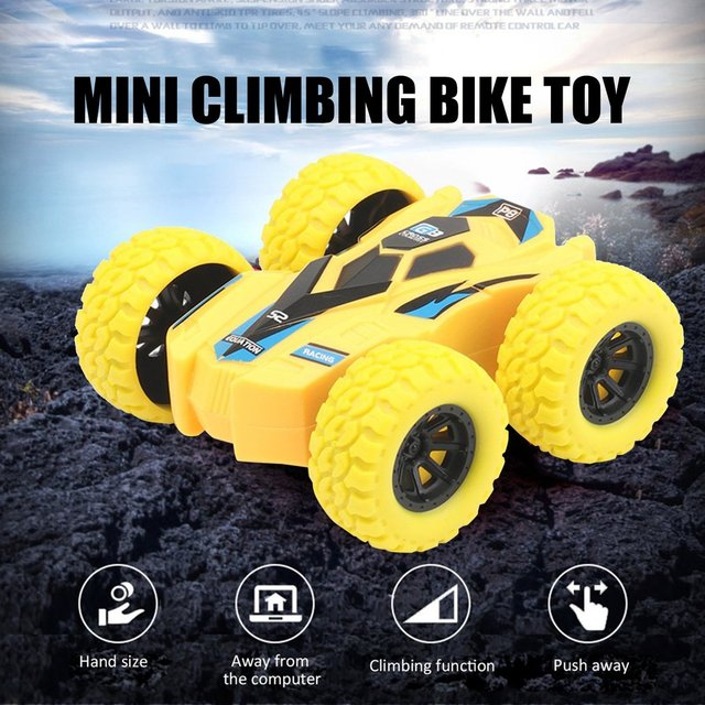 Children Inertia Double-sided Dump Truck Resistant Falling 360 Tumbling Spinning Toy Car Turned To Kid Gift Toys 1