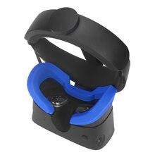 Adequado para óculos oculus rift s vr sombreamento silicone máscara de olho máscara facial pele amigável dustproof e sweatproof