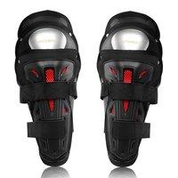 Motopolf preto gota resistente joelheiras da motocicleta de aço inoxidável ao ar livre equitação joelheiras protetores joelho respirável