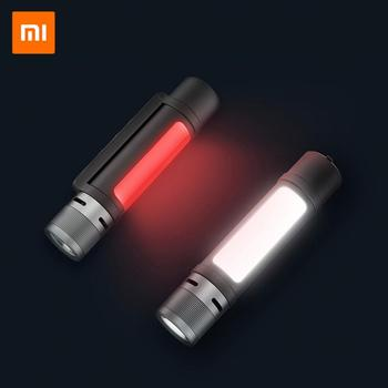 Xiaomi Portable LED Flashlight Ultra Bright Outdoor Torch Rechargeable Self Protection Emergency Light Zoomable Adjustable Focus