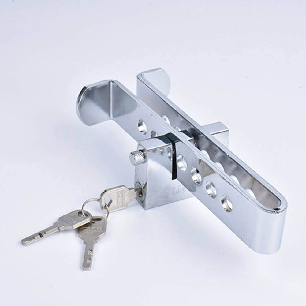 Buy Car Alloy Steel Anti-Theft Lock Security Supplies Device Auto Car Clutch Brake Lock for only 5.78 USD