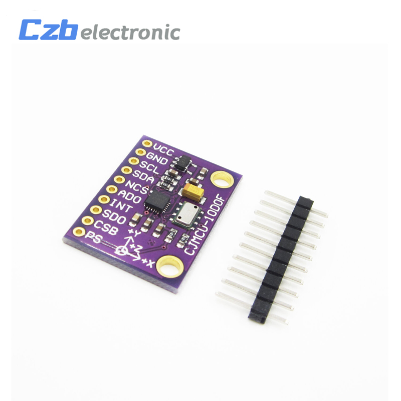 1PCS SPI/IIC MPU-9250+MS5611 High Precision 9-Axis 10DOF Altitude Sensor Module NEW