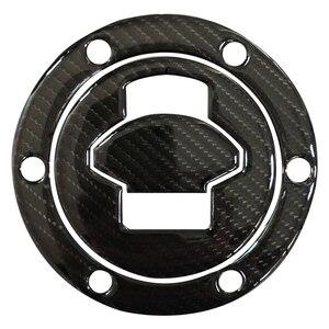 3D Carbon Fiber Tank Gas Cap Pad Filler Cover Sticker Decals for BMW R1200RT K1200S F650 R1150 R/RS/GT/LT ALL(China)