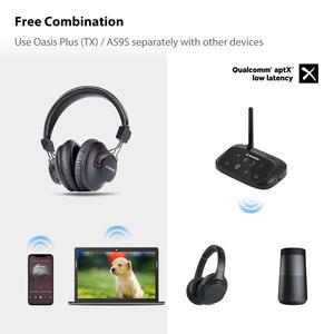 Image 5 - Avantree Lange Afstand Draadloze Hoofdtelefoon Voor Tv Kijken Met Bluetooth Zender, Ondersteunen Optische, Rca, 3.5Mm Aux, Plug & Play