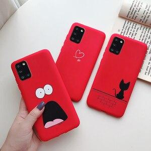 For Samsung Galaxy A31 Case For Samsung A31 Capas Bumper Silicone Soft Back TPU Phone Cases For Fundas Samsung Galaxy A31 Cover
