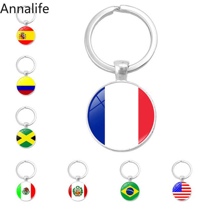 2019 South Europe Country Flag Keychain Greece Albania Spain Italy Croatia Bulgaria Bulgarian Serbia Romania San Marino Portugal