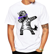Dabbing UnicornCatZebraPanda Camisetas Tops Hip Hop Tee Vogue 2019 Summer Fashion T Shirt Men Dabbing Pug Male Funny T Shirts цена