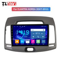 9 INCH Android 9.0 IPS 4G+64G CAR gps Navigation Radio For Hyundai Elantra 2007 2011 Korea Car DVD Player