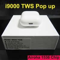 i9000 TWS In-ear Smart Sensor Wireless Earphone Super Sound Earbuds Pop up Bluetooth 5.0 Earphones Pk i1000 i2000 i800 TWS