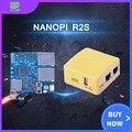 Friendlyarm NanoPi R2S NEUE Demo Board Dual Gbps Ethernet Rockchip RK3328 Smart Home Gateways Unterstützung OpenWrt System-in Demo-Board Zubehör aus Computer und Büro bei