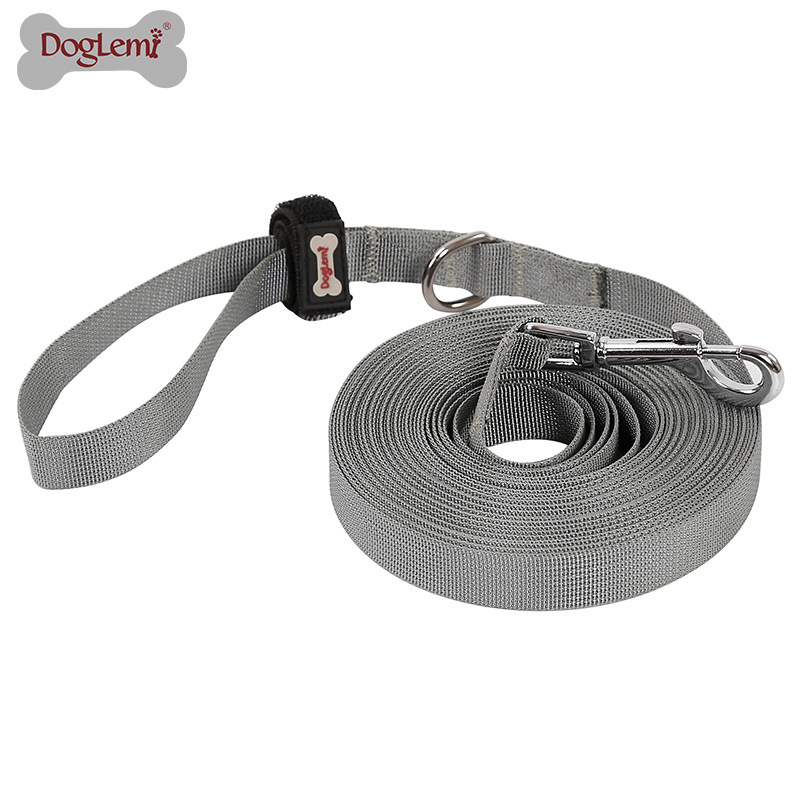 Industry Dog Training Long Lanyard Dog Chain Traction Belt Pet Training Nylon Tracking Lanyard Control Lanyard 5 M 10 M