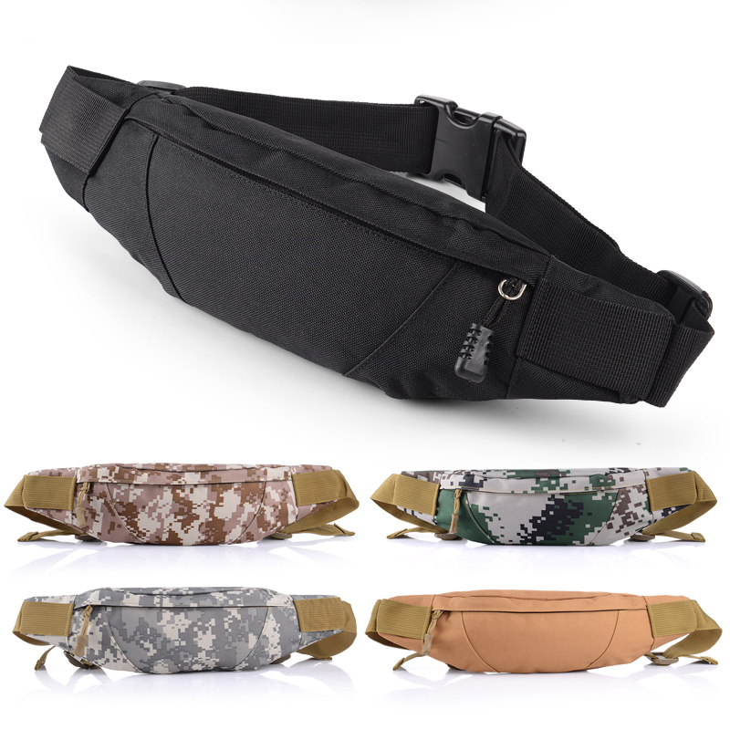 Sports Casual Waist Bag Multifunctional Waterproof Phone Bag Men And Women Running Travel Camo Chest Bag