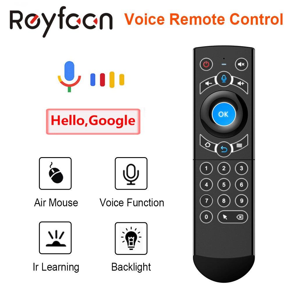 Пульт дистанционного управления G21 Pro, беспроводная клавиатура 2,4G Air Mouse с ИК гироскопом для Android TV Box H96 MAX X3 Pro X88|Пульты ДУ|   | АлиЭкспресс