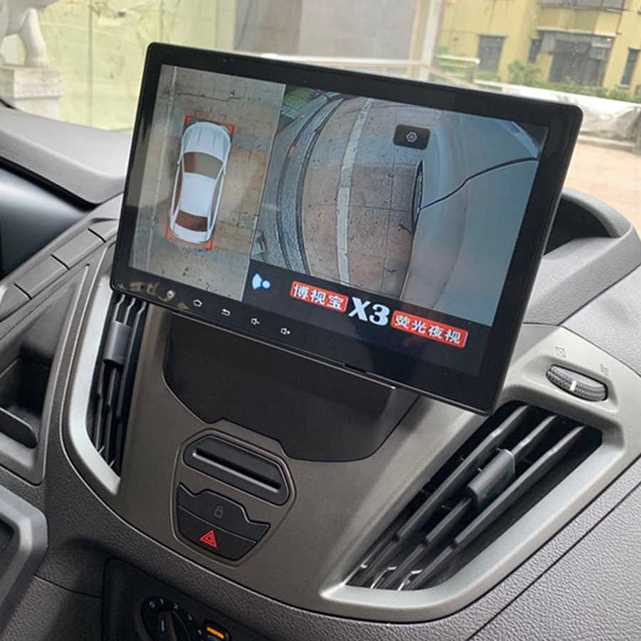 64GB ROM Android 10.0 2Din Mobil Dvd Multimedia Player GPS untuk Ford Transit Custom 2016 Navigasi Stereo Bluetooth Kepala unit