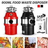 Food Waste Disposer 370W Food Residue Garbage Processor Sewer Rubbish Disposal Crusher Grinder Kitchen Sink Appliance
