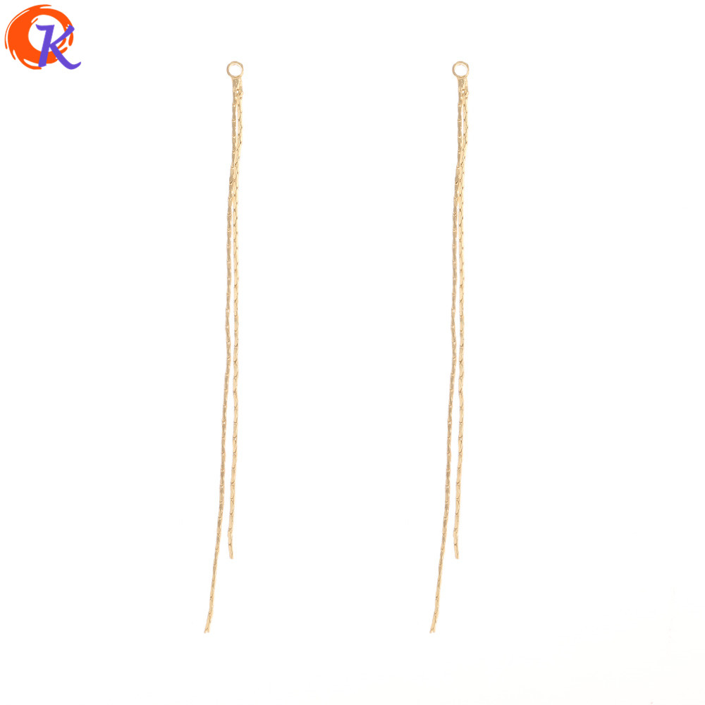 Cordial Design 100Pcs 3*81MM Jewelry Accessories/Earrings Connectors/Chain Shape/Hand Made/Jewelry Findings Component/DIY Making