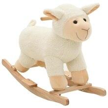 Toy Rocking-Chair Horse Animal-Sheep Plush Trojan Car Baby