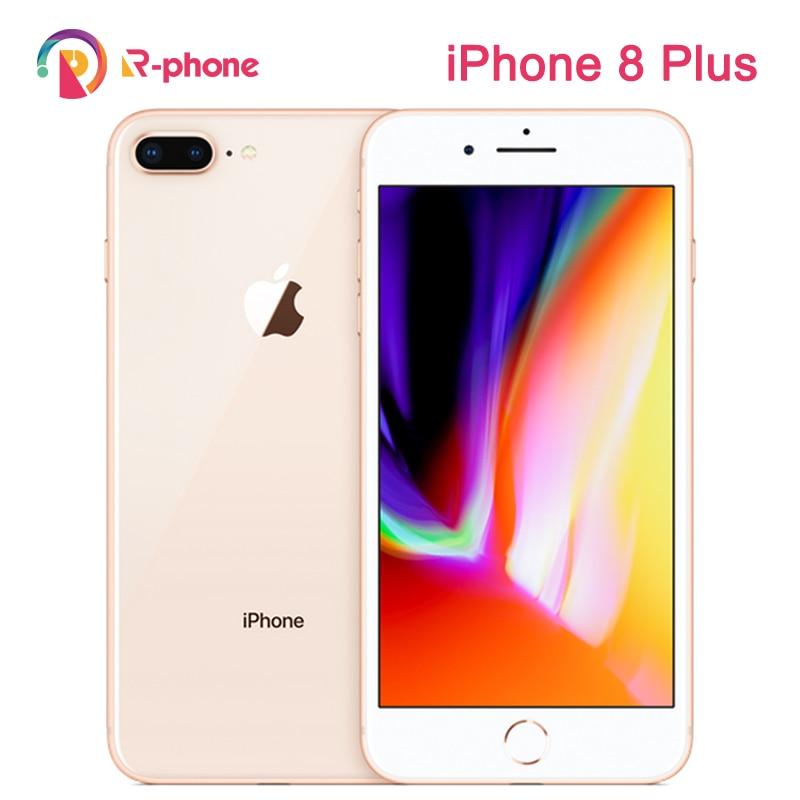 Оригинальный Apple iPhone 8 Plus используется 99% Новый 3 Гб RAM 64/256 ГБ ROM шестиядерный iOS 12MP беспроводной отпечаток пальца LTE разблокирован 8 P телефон