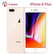Orijinal Apple iPhone 8 artı kullanılan 99% yeni 3GB RAM 64/256GB ROM Hexa çekirdek iOS 12MP kablosuz parmak izi LTE Unlocked 8 P telefon