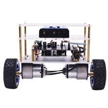 Open Source Programming Self-Balancing Car Diy Intelligent Robot Kit For Arduino Uno Balancing Car Us Plug [light loading version] stm32 two wheel balancing car dual wheel self balancing car kit
