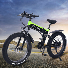 Electric Bicycle Mountain-Bike Folding R5 1000W Cell-Battery-Fat-Tire 21-Speed 26inch