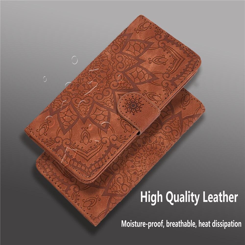 H9471d0cdc90f41e2b5810ed86a1a17b74 Matte Leather Phone Case For Samsung Galaxy A50 A70 A30 A40 A20 A10 A10E A20E A10S A20S A30S A50S Flip 3D Mandala Book Case