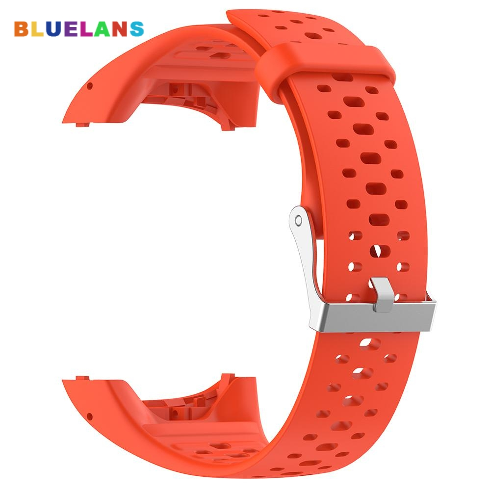 Popular Sports Hollow Silicone Watch Strap Band for Polar M400/430 GPS Smart Bracelet