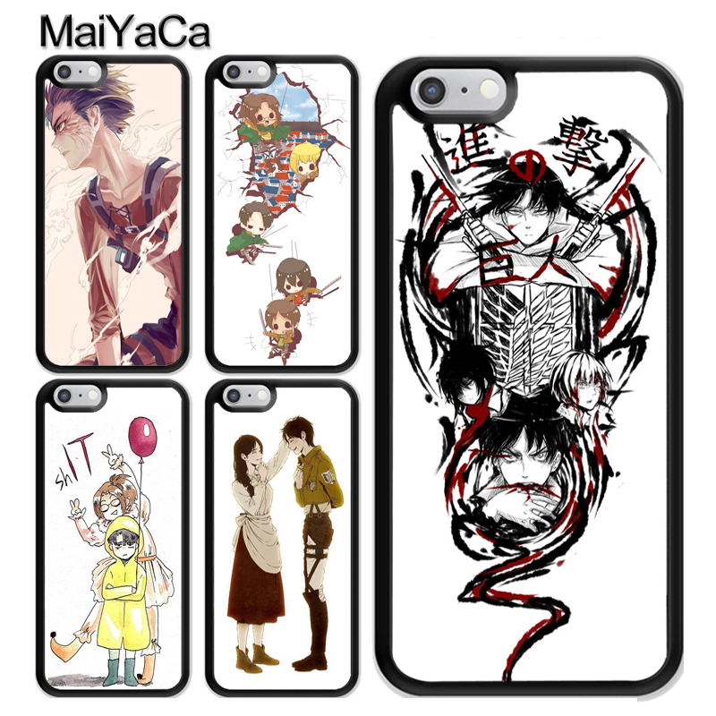 coque iphone 6 attack on titan