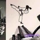 Woman Judo Kickboxin...