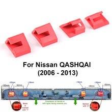Clipes de reparo da bagageira do punho da bota projetados para nissan qashqai 2006-2013 4 pçs/set