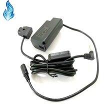 Cable d tap de 9V + DCC16 DMW BLJ31 batería simulada para cámaras digitales de la serie Panasonic LUMIX S1 S1M S1R S1RM S1H Lumix S1