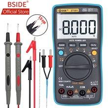 Official BSIDE 9999  Counts Ture RMS Digital Multimeter ZT301/ZT302  Multifunction AC/DC Voltage Temperature  Capacitance Tester