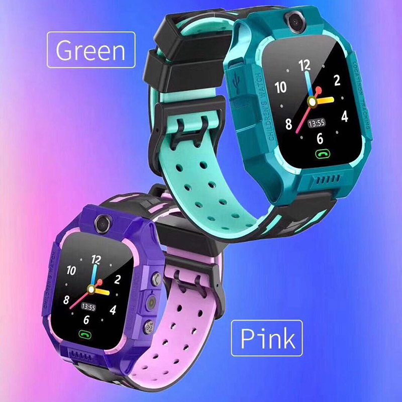 Z6 Childrens Waterproof Smart Watch GPS GSM Locator Touches Screen Smart Watch TC21