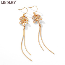 2020 New sunlight drop gold earrings for women vintage white glass tassel earings fashion Dangle jewelry wedding gift ins stud fashion jewelry golden triangle small black white glass drop earrings woman gift
