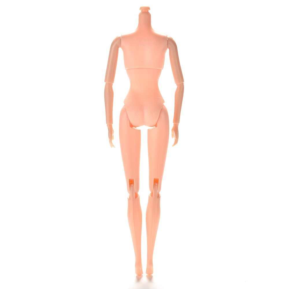 """25 см/10,23 """"12 шарниров DIY тело без головы 1 шт DIY подвижные обнаженные куклы тело для девочки Кукольный дом подарки детям"""