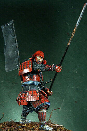 1/18 90mm   Ancient Man Warrior Stand (WITH BASE ) Resin Figure Model Kits Miniature Gk Unassembly Unpainted