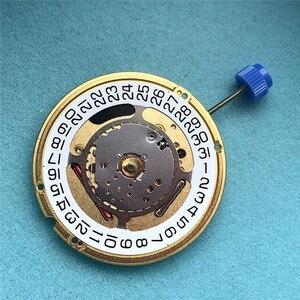 Image 5 - Nouveau Suisse Pour ETA F06.111 Montre Quartz Mouvement Dateur à 3» Date à 6» Montre Réparation Pièces Avec Batterie et Tige