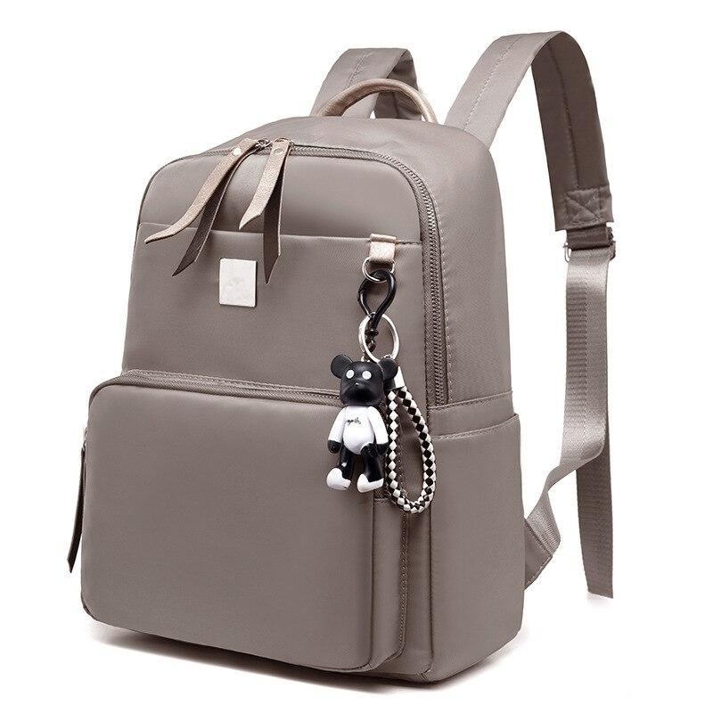 Ikaif Backpacks Purse School-Bag Travel Teenage-Girls Dual-Shoulder Fashion Women Feminina