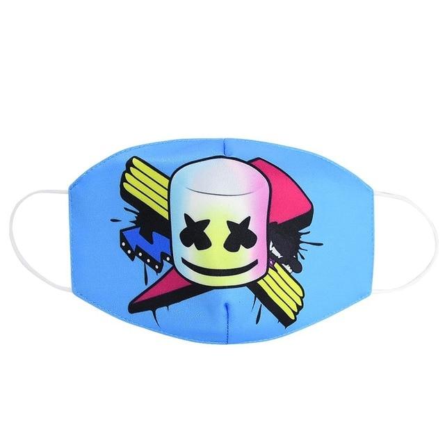 2020 Maska Dustproof Mouth Face Mask Adult Kids Cartoon Cover Women Men Muffle Face Mouth Masks gasket 2